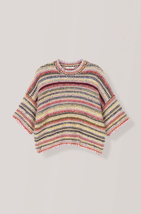 Ganni Mixed Knit Sweater