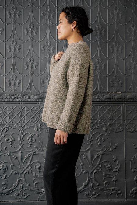 Lauren Manoogian Rustic Wide Crewneck - Vintage Wool