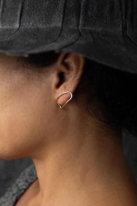 Fay Andrada Vaaka Earrings - 14K GOLD