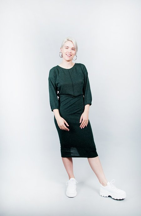Eve Gravel Juniper Dress