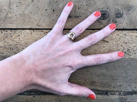 Marisa Mason Puebla Ring - Brass