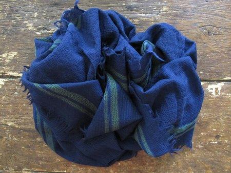 UNISEX Inouitoosh Wool Shawl - Navy