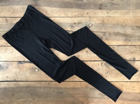 Humanoid June Jersey Leggings - Blackish