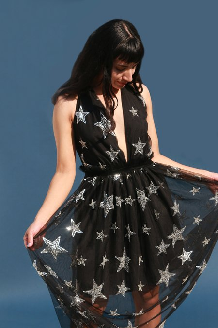 Renamed In the Starlight Dress - Black