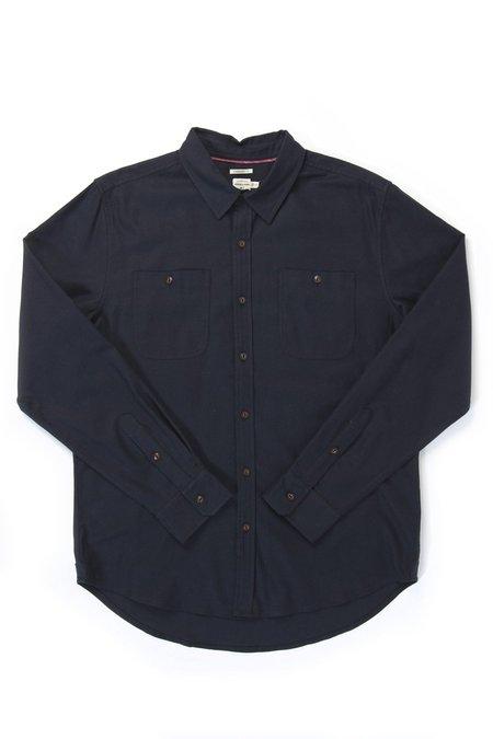 Bridge & Burn Winslow Flannel shirt - Navy