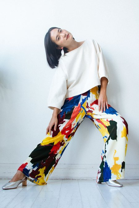 Wray Luna Pant - Expressionist Print
