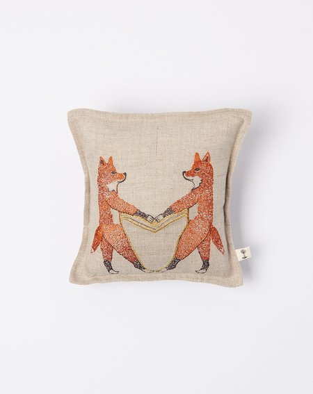 Coral & Tusk Fox Love Toothfairy Pillow
