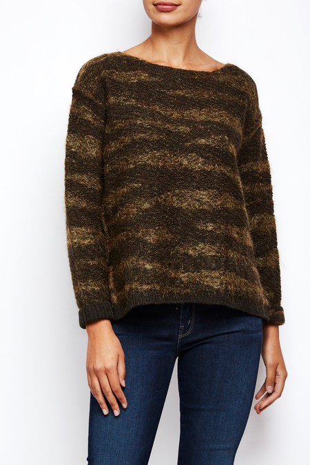 Roberto Collina Baby Mohair Blend Sweater