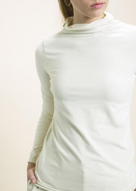 Labo.Art Vulcano Jersey Top - cream