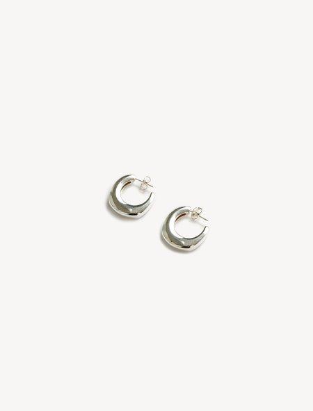 Ursa Major Yasmine Hoop Earrings - Silver