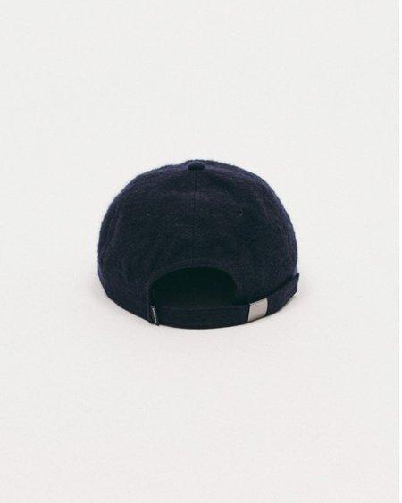Maiden Noir Brushed Wool Cap - Navy