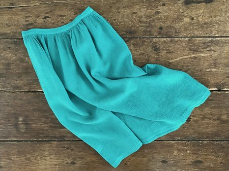 Off Season Aster Skirt - Malachite