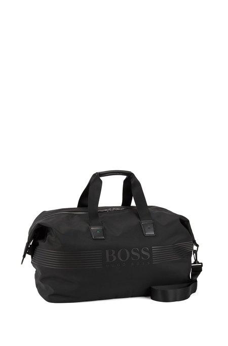Hugo Boss Pixel Holdall Bag - Black