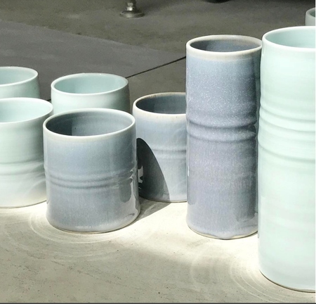 Amanda Moffat Cylinder Vase/Tumbler