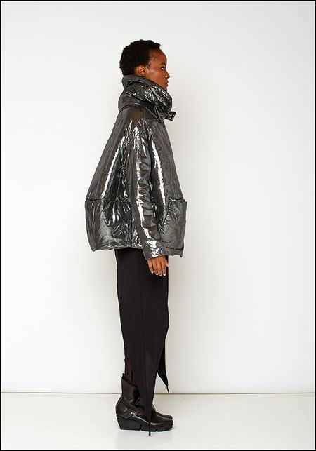 Rundholz DIP Metallic Puffer Jacket - SILVER