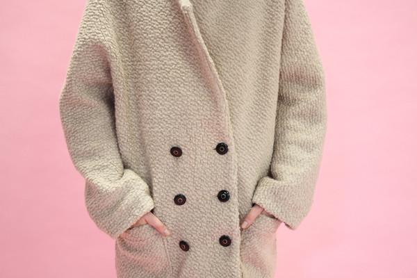 Eve Gravel Mile End Coat