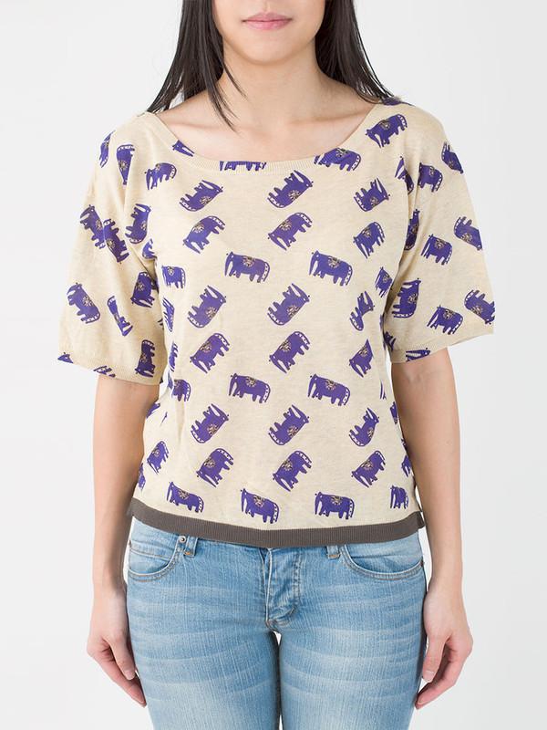 Hoss Intropia Elephant Shirt