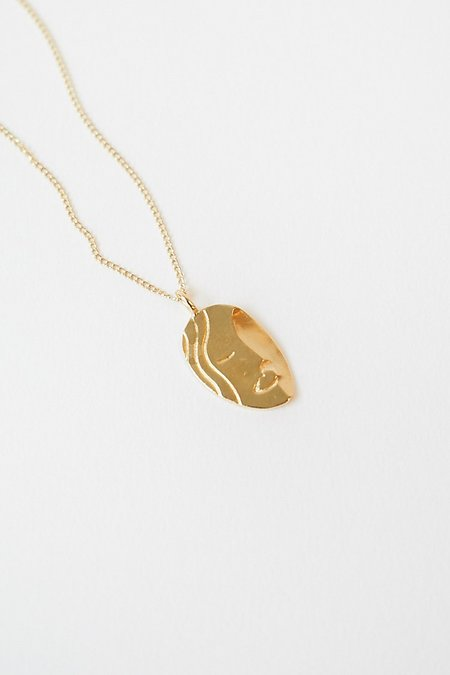 Wolf Circus Ilona Necklace - Gold