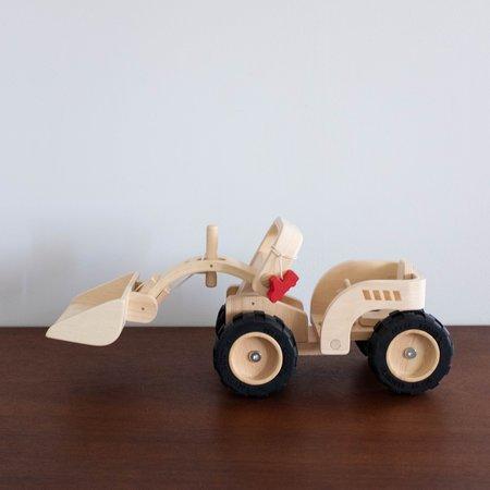 Kids Plan Toys Wooden Bulldozer Toy