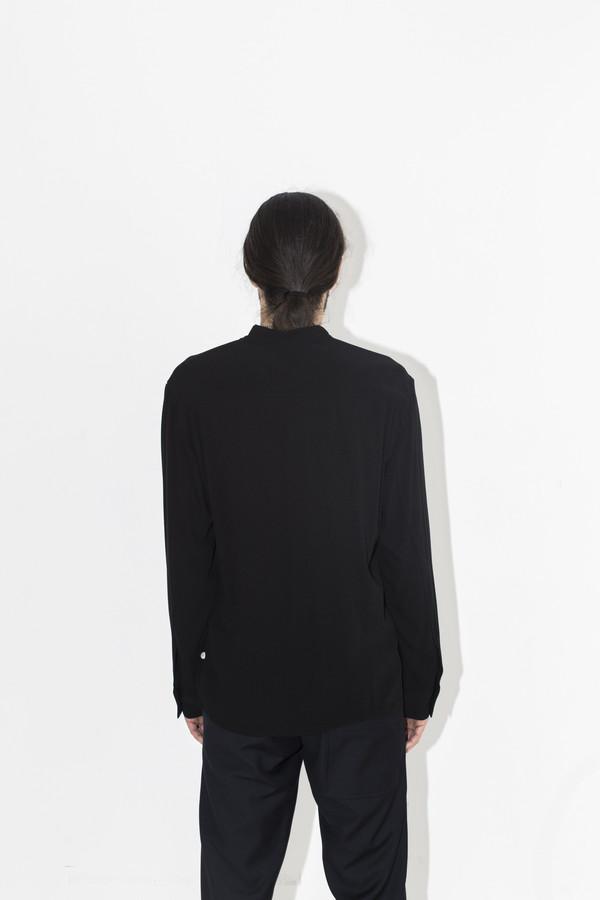 Men's Assembly New York Crepe No Collar Shirt
