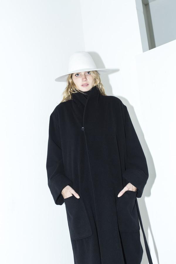 Assembly New York Black Robe Coat