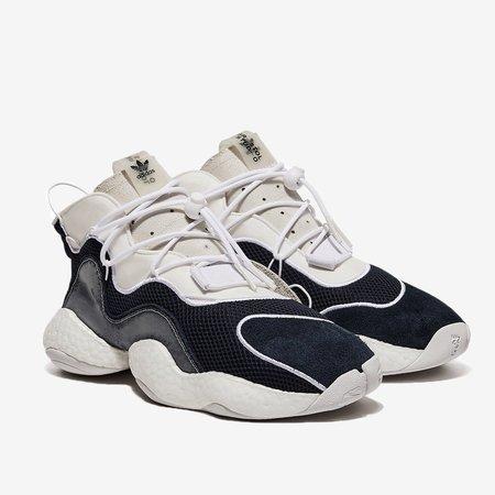 ADIDAS X BRISTOL Crazy BYW LVL Sneaker - Cloud White/Navy
