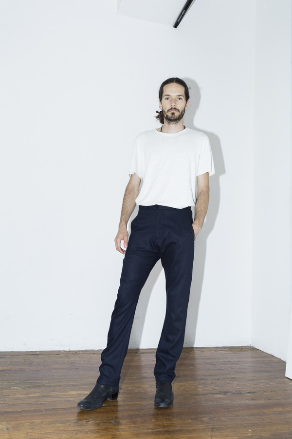 Men's Assembly New York Navy Pant