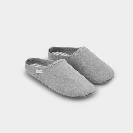 Sasawashi Room Shoes - Gray