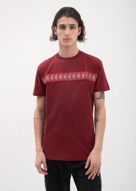 Kappa Kontroll Reflective Banda T-Shirt - Dark Red