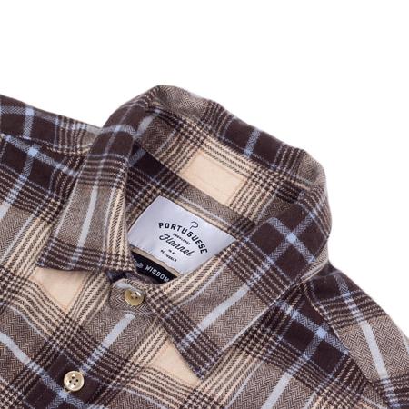 Portuguese Flannel Supply - Brown/Cream