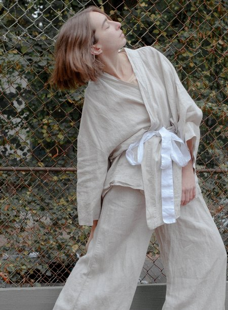 Deiji Sleepwear Set - Oatmeal