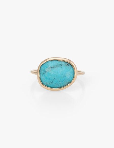 Kathryn Bentley Turquoise Slice Ring