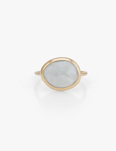 Kathryn Bentley Aquamarine slice Ring