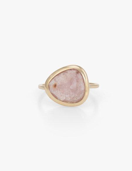 Kathryn Bentley Pink Sapphire Slice Ring