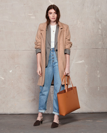 The Stowe Katie Veg Tanned Tote Bag - Tan
