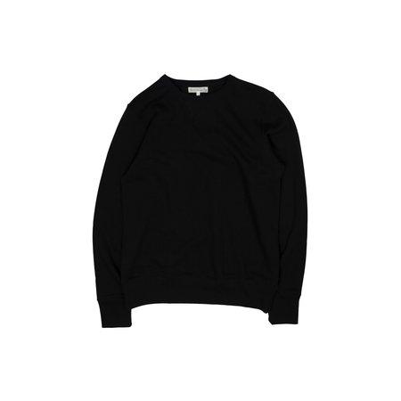 Merz b. Schwanen 346 Crewneck Sweatshirt - Deep Black