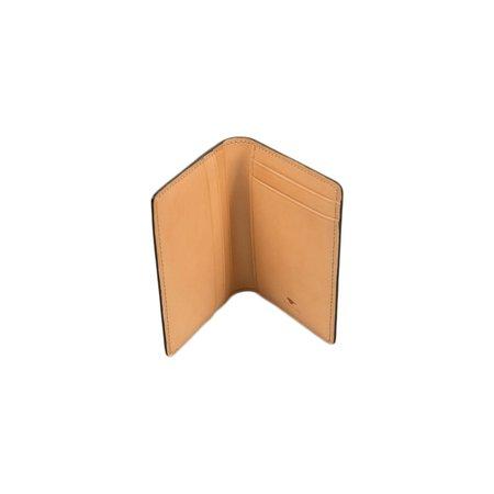 Il Bussetto Bi-Fold Card Case - Tibetan Red