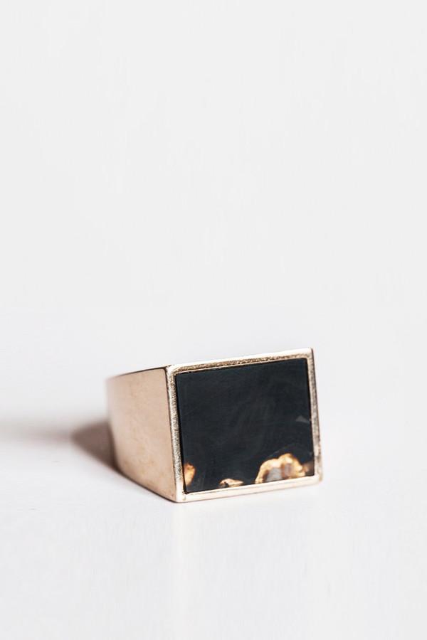 Unisex Legier & Livaudais Black Onyx Ring