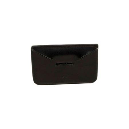 Il Bussetto Envelope Business Card Holder - Black