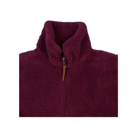 Albam Fleece Zip Through - Raspberry