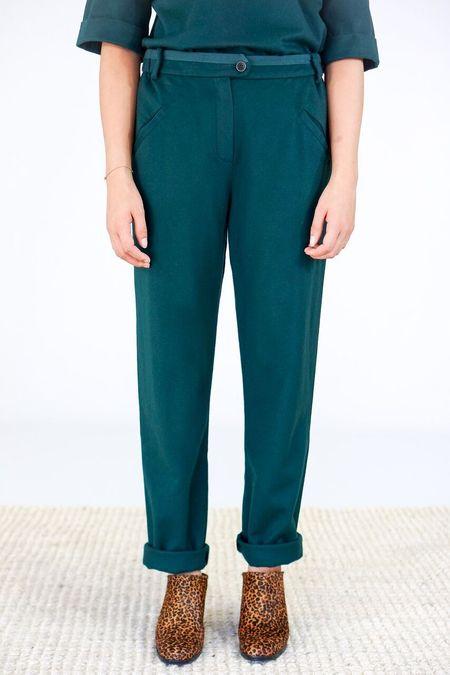 Humanoid Emal Trousers - Peacock