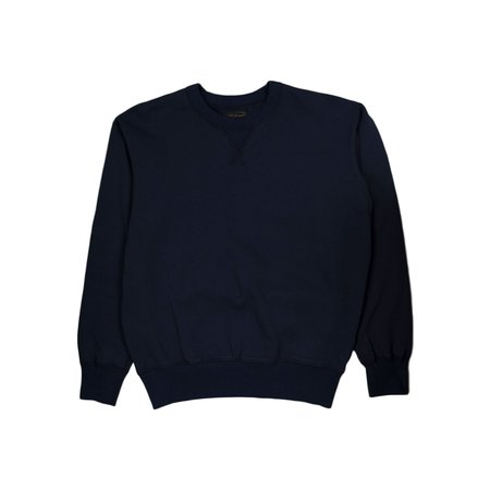National Athletic Goods Single V Dyed Terry Warm-Up - Navy