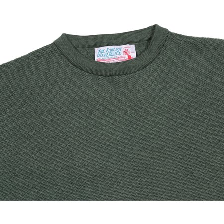 Garbstore The English Difference Crewneck Sweater - Olive