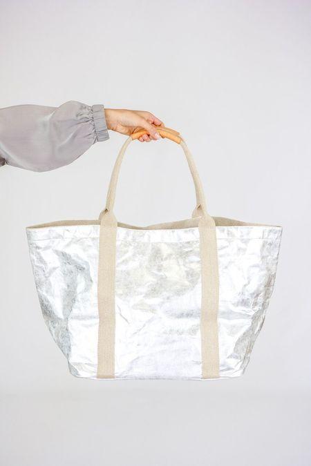 Uashmama Giulia Nuvola Large Bag - Silver