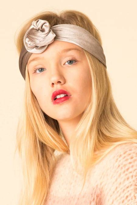Donni. Velvet Poppy Hair Tie