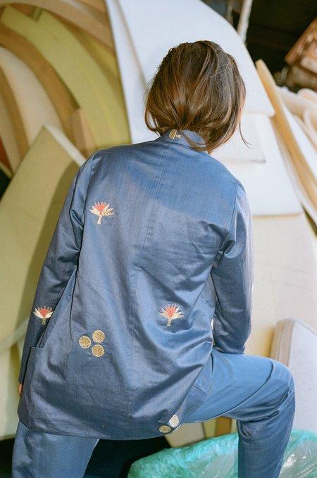 100% Silk Cintemani Suit Blazer