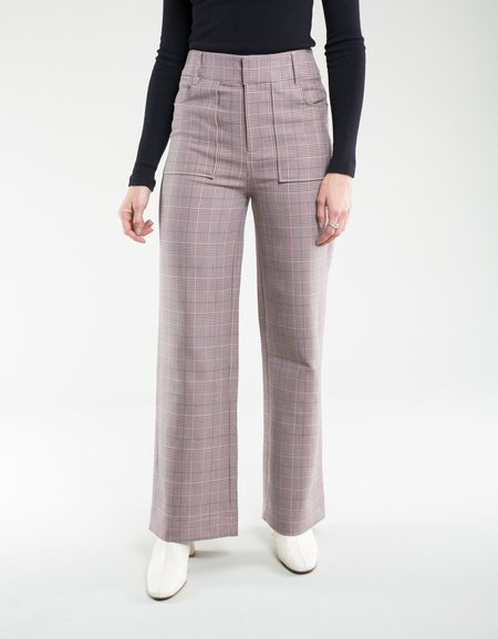 Ganni Suiting Pants - Silver Pink
