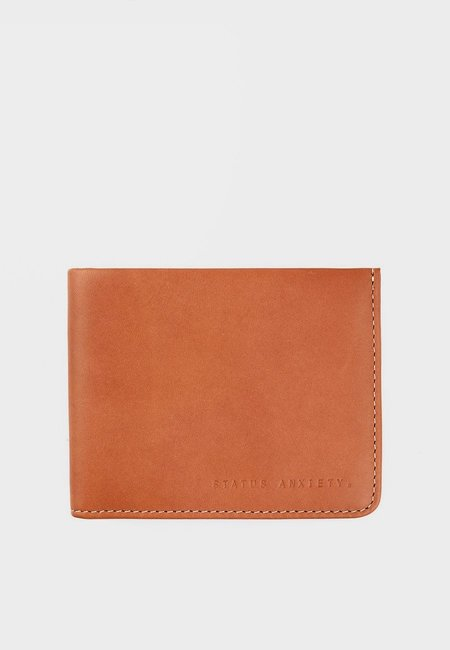 Status Anxiety Alfred Wallet - Camel