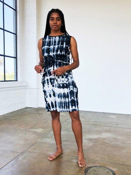 Uzi NYC Wrap Dress - Tie Dye
