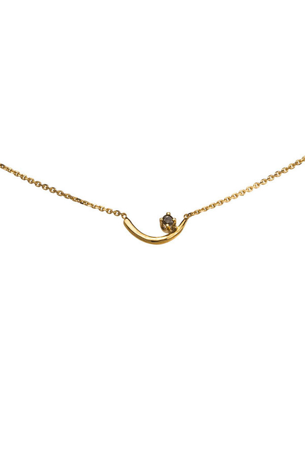 Wwake Gold Arc Lineage Necklace